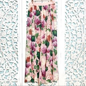 Show Me Your Mumu Misty Floral Print Maxi Skirt